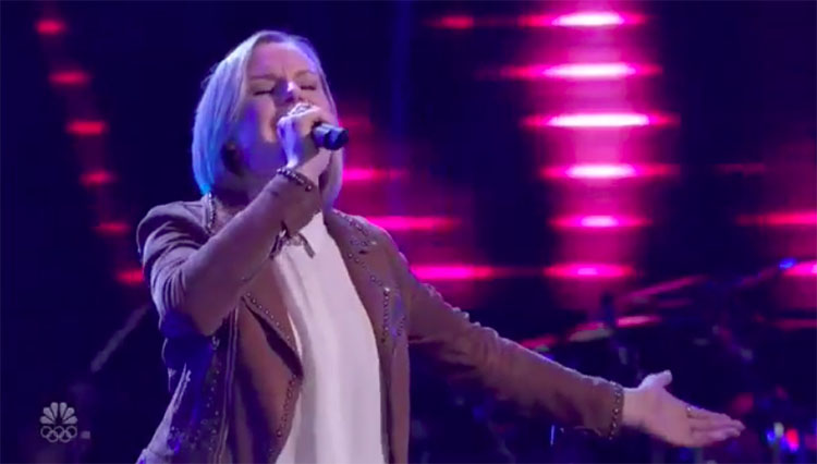 """Sara Collins sings """"Johnny And June"""" on The Voice Blind Auditions 2020"""