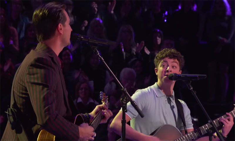 """Tate Brusa vs Anders Drerup """"Circles"""" The Voice Battles 2020"""