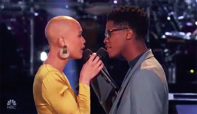 "Cedrice vs Thunderstorm Artis ""Stay"" The Voice Battles 2020"