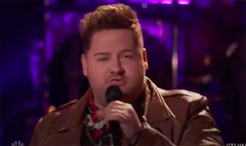 """Jon Mullins sings """"Thinking Out Loud"""" on The Voice Knockouts 2020"""