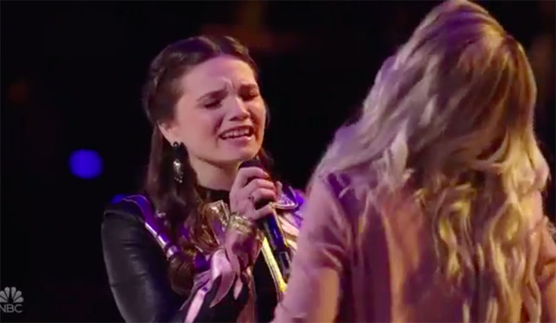"Samantha Howell vs Megan Danielle ""Top of the World"" The Voice Battles 2020"