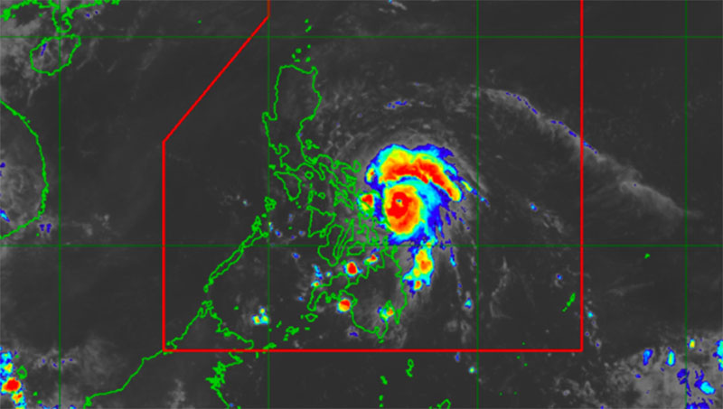 Bagyong Ambo PAGASA Weather Forecast and Live Update - May 14, 2020