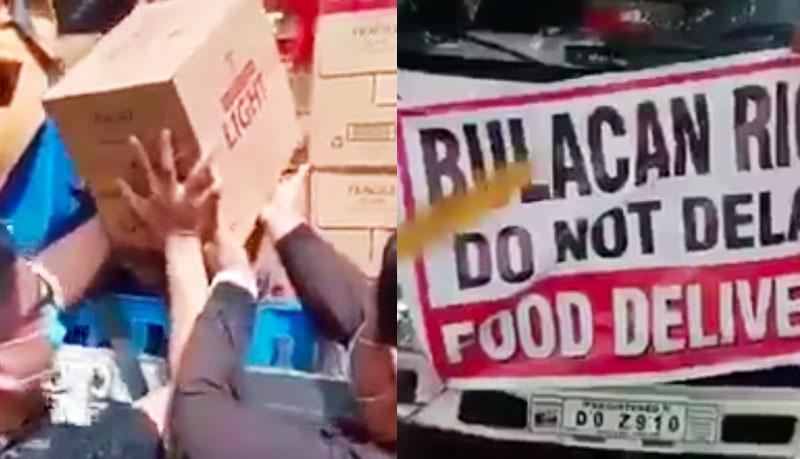Bulacan Rice daw pero Kahon-kahong Alak ang Laman