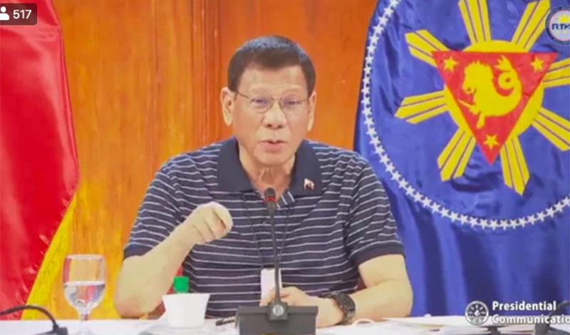 "WATCH: Duterte says ""No Vaccine, No Classes"""