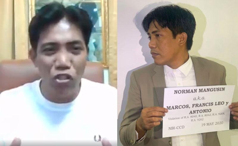 """Francis Leo Marcos Nabunyag ang Tunay Pagkatao at Tunay na Pangalang """"Norman Mangusin"""""""