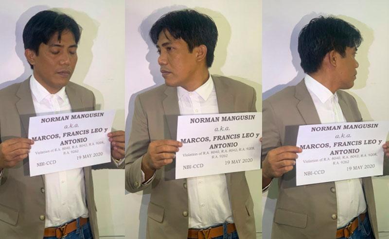 LOOK: Francis Leo Marcos inaresto ng NBI, Sasampahan ng patung-patung na Kaso