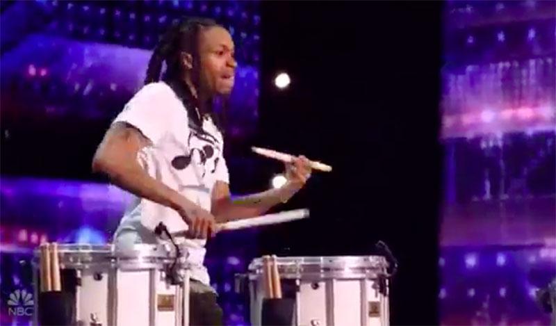"Malik ""Drummer"" America's Got Talent 2020 AGT Audition Performance Video"