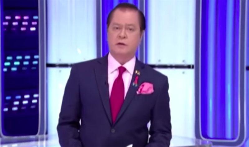 Noli De Castro Emosyonal Habang Nagbibigay ng Mensahe Bago mag Off-Air ang ABS-CBN