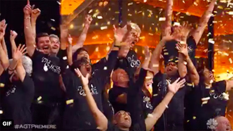 "Voices of Our City Choir gets ""Golden Buzzer"" on America's Got Talent 2020 AGT Audition Premiere"