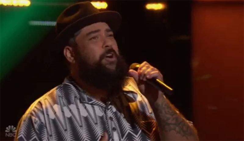 "Joseph Soul sings ""Is This Love"" on The Voice Blind Auditions"
