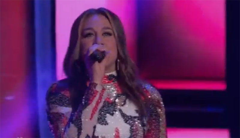 "Madeline Consoer sings ""Girl"" on The Voice Blind Auditions"