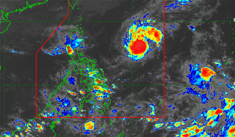 Bagyong Rolly PAGASA Weather Forecast and Live Update