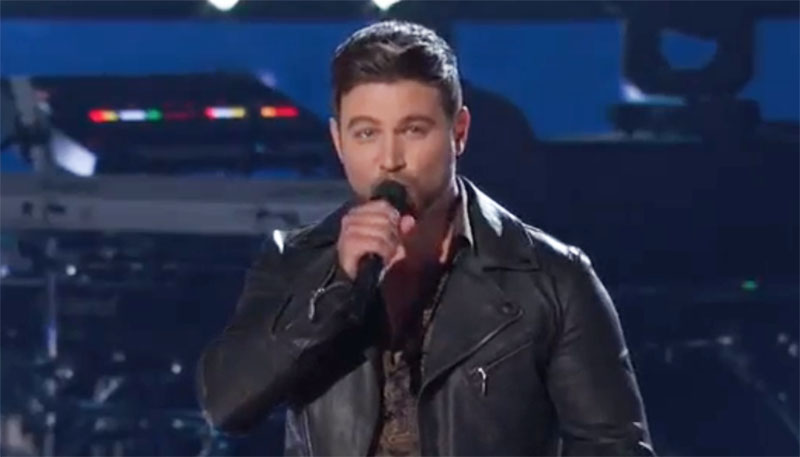 """Ryan Gallagher sings """"Time To Say Goodbye"""" on The Voice Knockouts"""