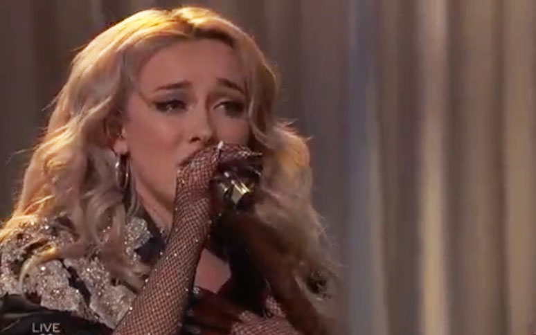 """Cami Clune sings """"The Joke"""" The Voice Top 9 Live Semifinals"""