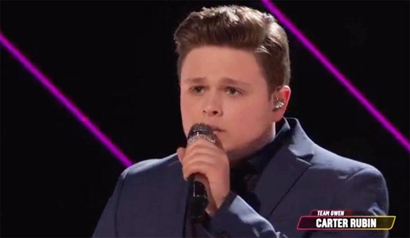 Carter Rubin is The Voice 2020 Season 19 Winner