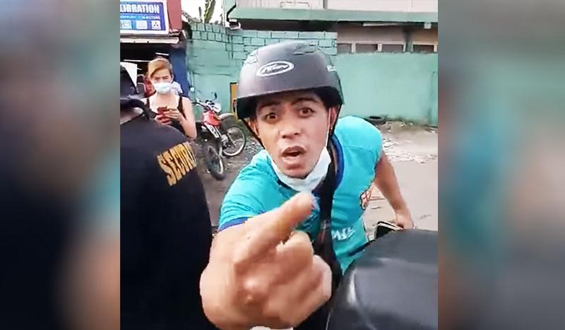 Rider Billy Jack Sanchez with Girlfriend vs Traffic Enforcer Video