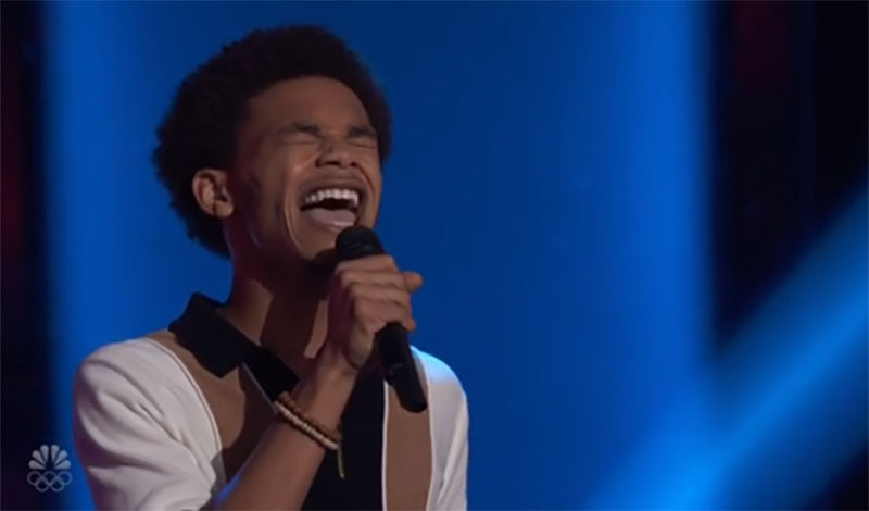 """Cam Anthony sings """"Lay Me Down"""" on The Voice Season 20 Blind Auditions"""
