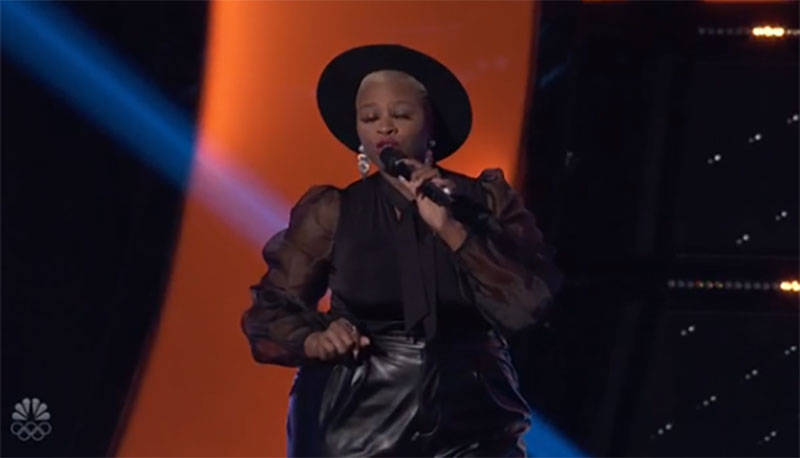 "Dana Monique sings ""Freeway of Love"" on The Voice Season 20 Blind Auditions"