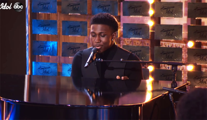 """Deshawn Goncalves sings """"Everything Must Change"""" on American Idol 2021 Auditions"""