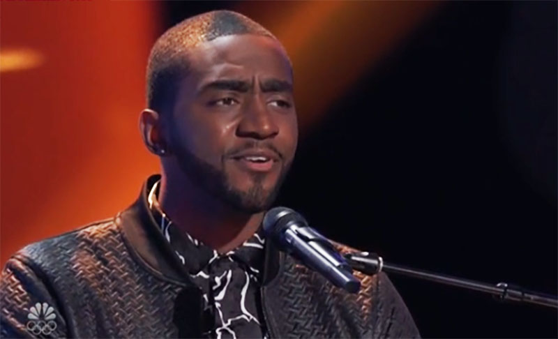 "Durell Anthony sings ""What's Going On"" on The Voice Season 20 Blind Auditions"
