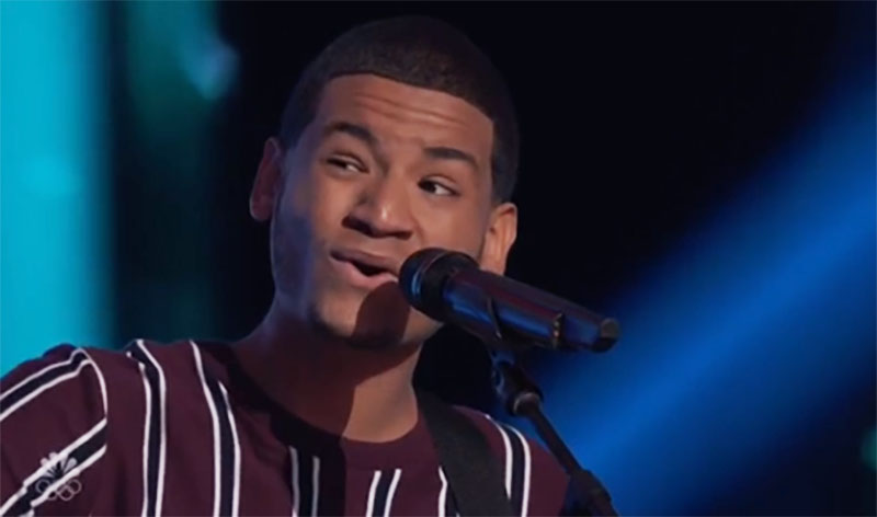 """Gean Garcia sings """"All I Want"""" on The Voice Season 20 Blind Auditions"""