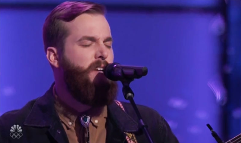 """JD Casper sings """"How To Save a Life"""" on The Voice Season 20 Blind Auditions"""