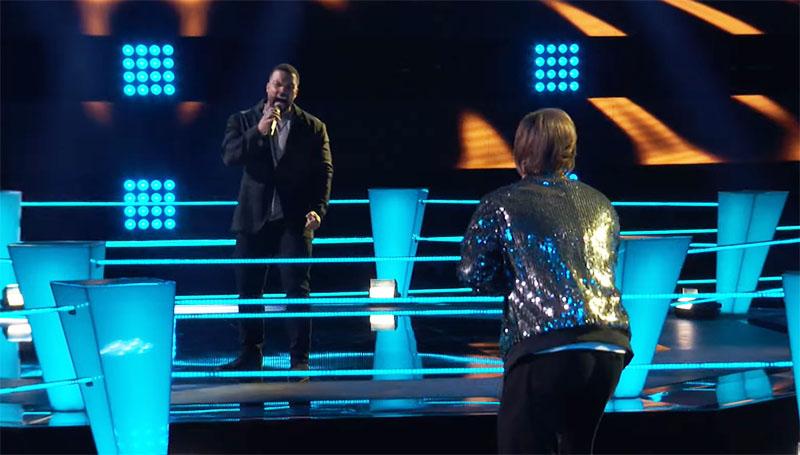 "Jose Figueroa Jr vs Awari ""You Say"" on The Voice Season 20 Battles"