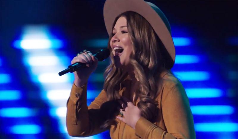 "Rachel Mac sings ""Let Him Fly"" on The Voice Season 20 Blind Auditions"