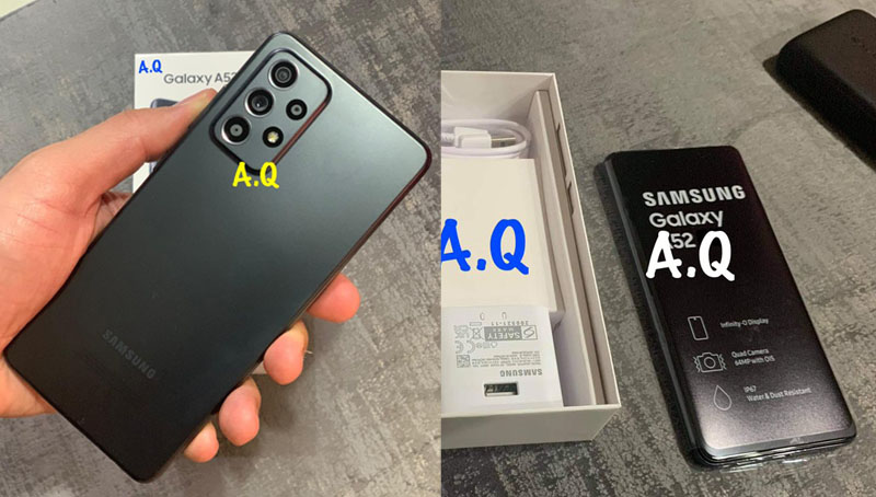 Samsung A52 Leaks Ahead of Launch, Comes with IP67 Dust & Water Resistant