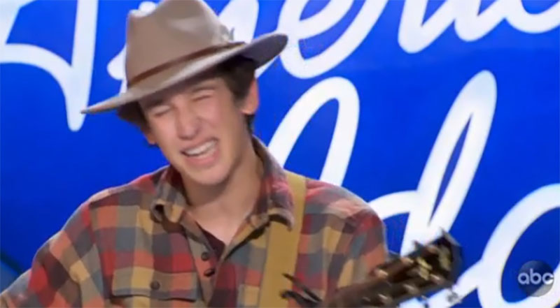 """Wyatt Pike sings """"Best For your"""" on American Idol 2021 Auditions"""