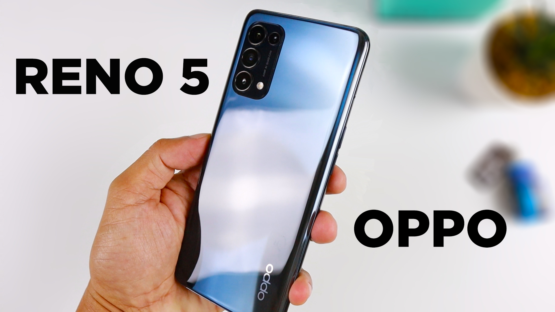 OPPO Reno 5 Unboxing and Camera Review - Zeibiz