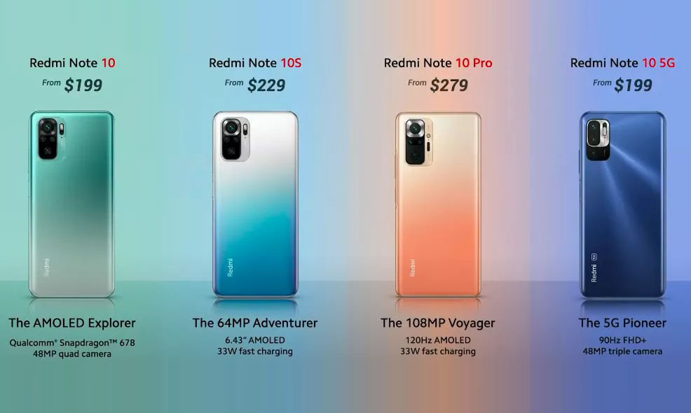 Redmi Note 10 Series to Launch in Philippines on March 12