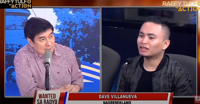 Dave Villanueva vs Raffy Tulfo In Action Staff - Issues Warrant of Arrest