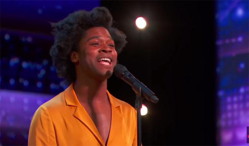 "Jimmie Herrod sings ""Tomorrow"" on America's Got Talent 2021 AGT Audition"