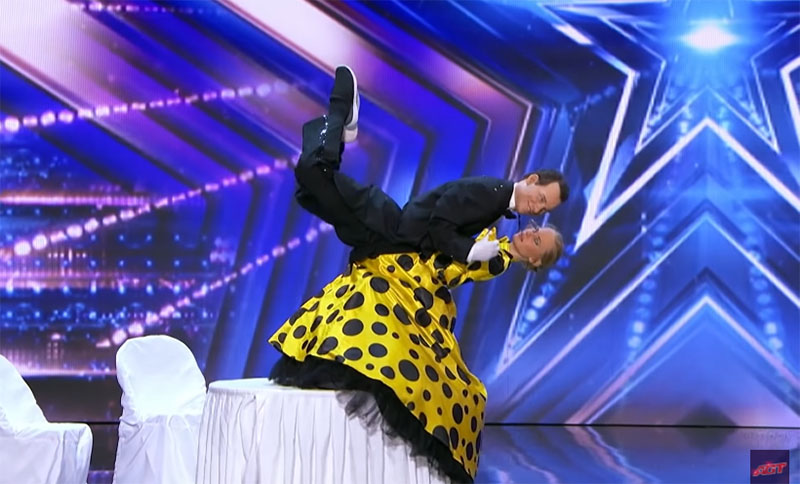 Pasha And Aliona America's Got Talent 2021 AGT Audition Performance Video
