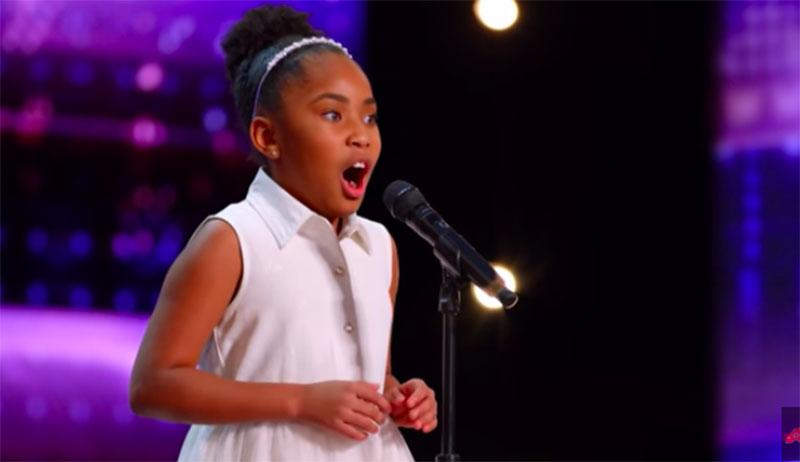 "Victory Brinker sings ""Juliet's Waltz"" on America's Got Talent 2021 AGT Audition"