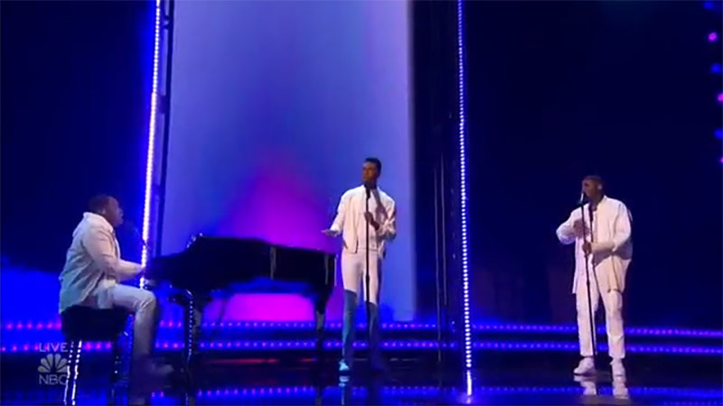 """1aChord sings """"Everybody Hurts"""" on America's Got Talent 2021 AGT Quarterfinals"""