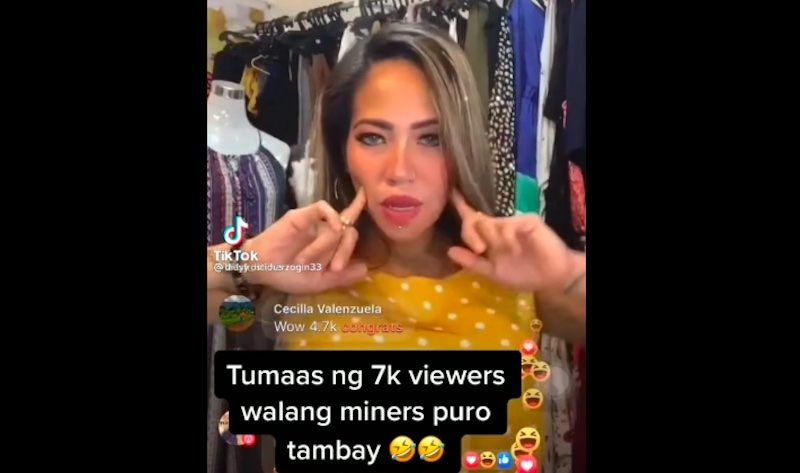 "Daisy Lopez ""Madam Inutz"" Live Selling naging Live Tambayan"