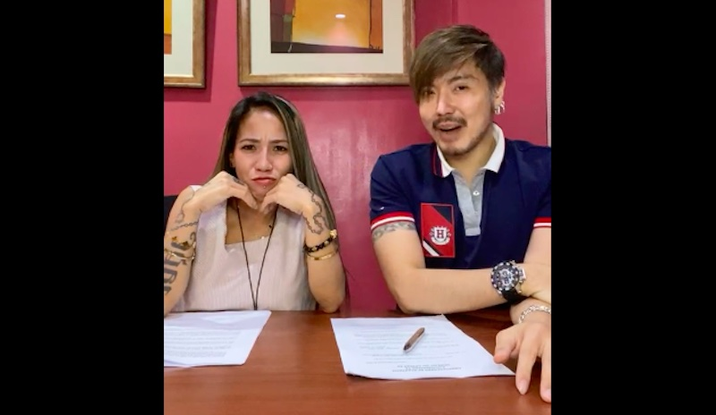 """Daisy Lopez """"Madam Inutz"""" Signs Contract with Wilbert Tolentino"""
