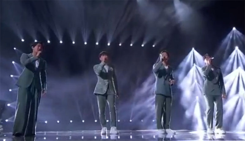 """Korean Soul sings """"I Don't Want to Miss a Thing"""" on America's Got Talent 2021 AGT Quarterfinals"""