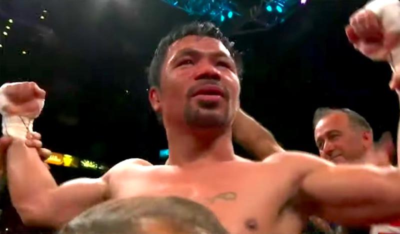 LIVESTREAM: Manny Pacquiao vs Yordenis Ugas Live Coverage, Results & Winner