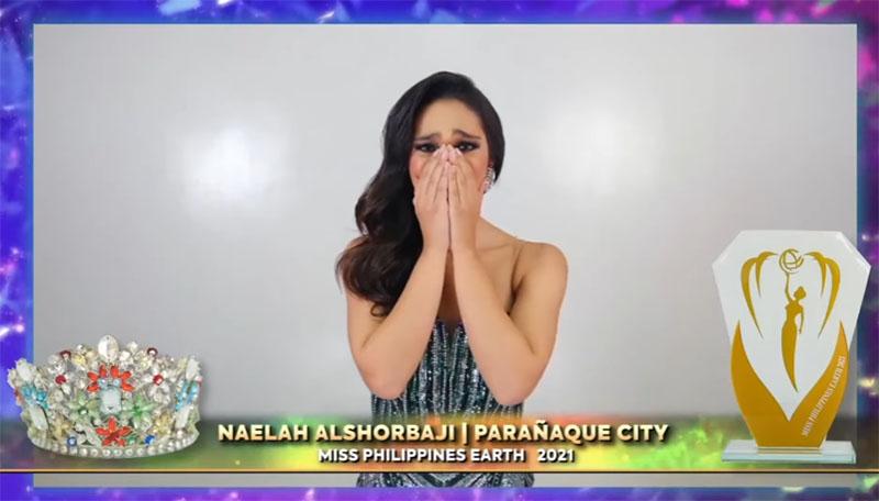 WATCH: Naelah Alshorbaji Crowned Winner of Miss Philippines Earth 2021
