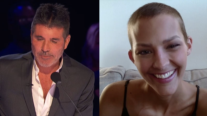 """Nightbirde """"Jane Marczweski"""" shares an Emotional Moment with The Judges, Simon Cowell in Tears"""