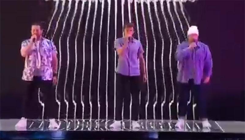 "T.3 sings ""Good 4 U"" on America's Got Talent 2021 AGT Quarterfinals"