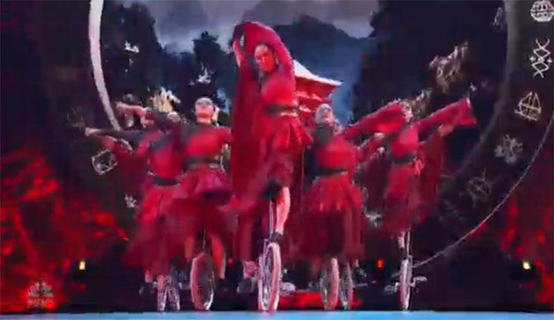 UniCircle Flow America's Got Talent 2021 AGT Quarterfinals Performance