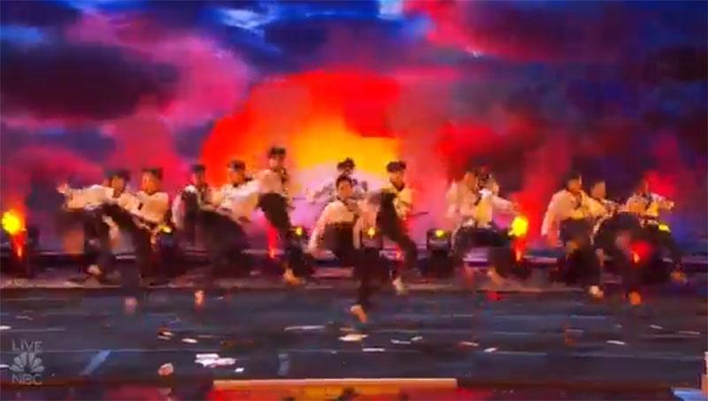 World Taekwondo Demo Team America's Got Talent 2021 AGT Quarterfinals Performance