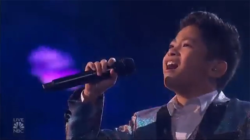 """Peter Rosalita sings """"I Have Nothing"""" America's Got Talent 2021 AGT Quarterfinals"""