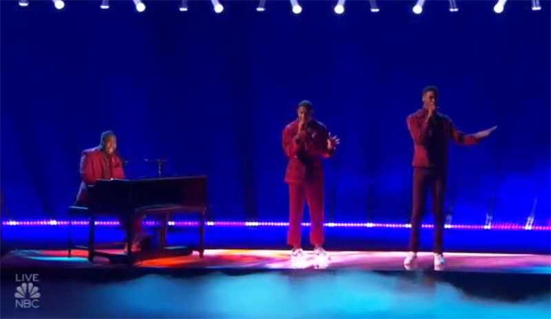 """1aChord sings """"Every Breath You Take"""" on America's Got Talent 2021 AGT Semifinals"""