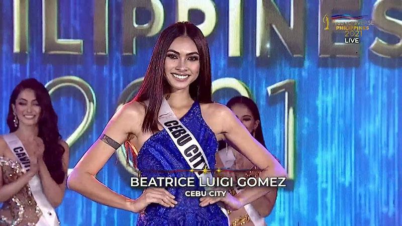 Beatrice Luigi Gomez Crowned as Miss Universe Philippines 2021 Winner