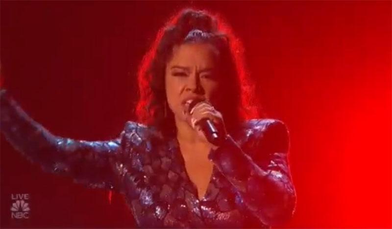 Brooke Simpson on America's Got Talent 2021 AGT Finals Performance